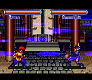 Screenshot Thumbnail / Media File 1 for Ranma 1-2 - Hard Battle (USA)