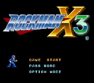Screenshot Thumbnail / Media File 1 for Rockman X3 (Japan)