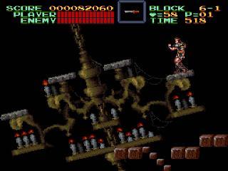 Screenshot Thumbnail / Media File 1 for Super Castlevania IV (USA)