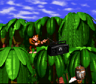 Screenshot Thumbnail / Media File 1 for Super Donkey Kong (Japan)