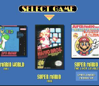 Screenshot Thumbnail / Media File 1 for Super Mario All-Stars + Super Mario World (USA)