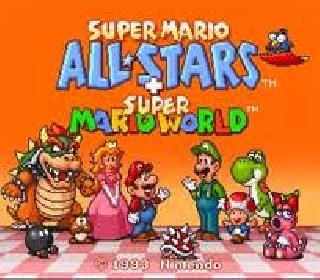 Screenshot Thumbnail / Media File 1 for Super Mario All-Stars + Super Mario World (USA)