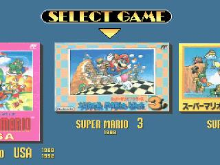 Screenshot Thumbnail / Media File 1 for Super Mario Collection (Japan)