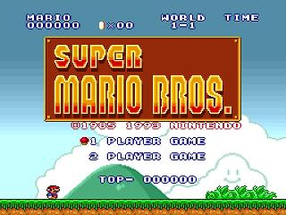 Screenshot Thumbnail / Media File 1 for Super Mario Collection (Japan)