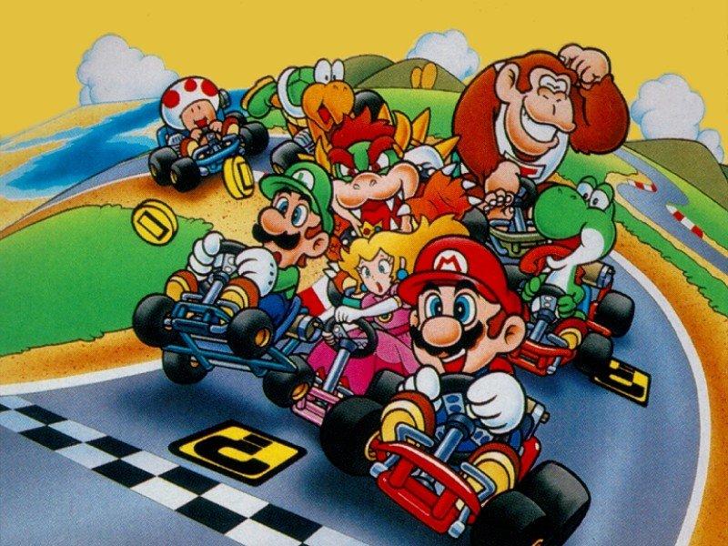 For Super Mario Kart Usa