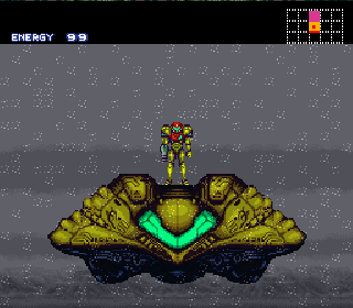 Screenshot Thumbnail / Media File 1 for Super Metroid (Japan, USA) (En,Ja)