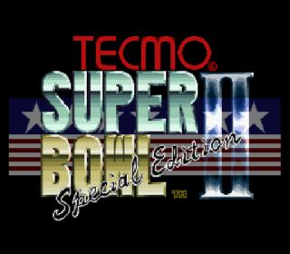 Screenshot Thumbnail / Media File 1 for Tecmo Super Bowl II - Special Edition (Japan)