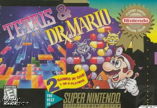 Screenshot Thumbnail / Media File 1 for Tetris & Dr. Mario (USA)