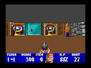 Screenshot Thumbnail / Media File 1 for Wolfenstein 3D (USA)
