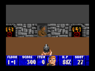 Screenshot Thumbnail / Media File 1 for Wolfenstein 3D (USA)