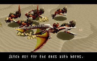 Screenshot Thumbnail / Media File 1 for Panzer Dragoon Saga Disc 1 of 4 (U)