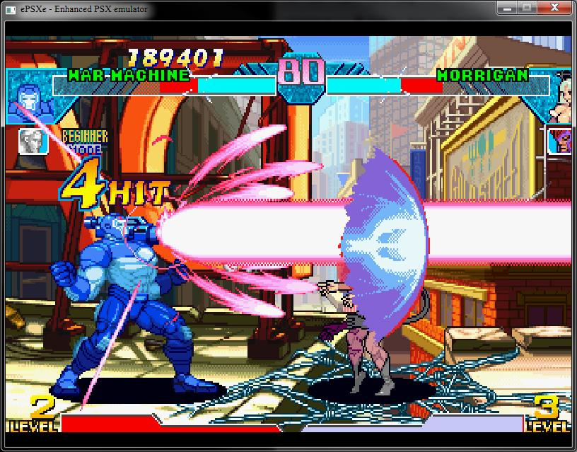 Marvel Vs Capcom Clash Of The Super Heroes Iso