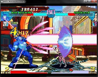 Screenshot Thumbnail / Media File 1 for Marvel vs. Capcom - Clash of the Super Heroes