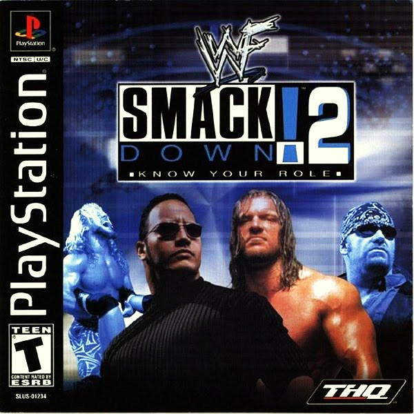 Download ROM PSX Game WWF Smackdown 2 High Compress RIP (58.1 MB)