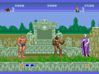 Screenshot Thumbnail / Media File 1 for Altered Beast (USA, Europe)