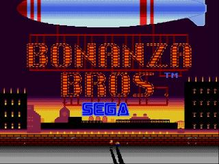 Screenshot Thumbnail / Media File 1 for Bonanza Bros. (World) (Rev A)