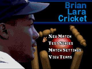 Screenshot Thumbnail / Media File 1 for Brian Lara Cricket (Europe) (June 1995)