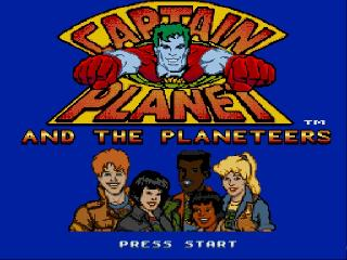 Screenshot Thumbnail / Media File 1 for Captain Planet and the Planeteers (Europe)