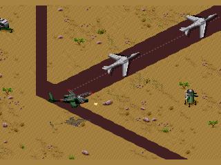 Screenshot Thumbnail / Media File 1 for Desert Strike (USA, Europe)