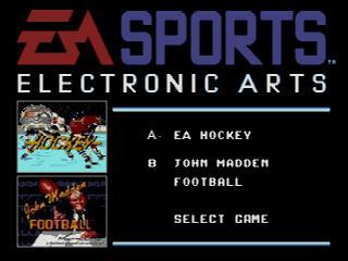 Screenshot Thumbnail / Media File 1 for EA Sports Double Header (Europe)