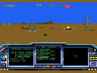 Screenshot Thumbnail / Media File 1 for LHX Attack Chopper (USA, Europe)