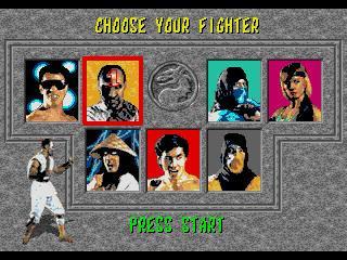 Screenshot Thumbnail / Media File 1 for Mortal Kombat (World)