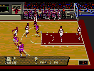 Screenshot Thumbnail / Media File 1 for NBA Action '94 (USA)