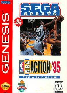 Screenshot Thumbnail / Media File 1 for NBA Action '95 Starring David Robinson (USA, Europe)
