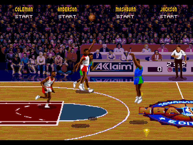 Nba Jam Tournament Edition World Rom