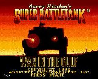 Screenshot Thumbnail / Media File 1 for Super Battletank - War in the Gulf (USA)