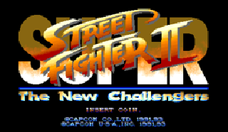 Screenshot Thumbnail / Media File 1 for Super Street Fighter II - The New Challengers (USA)