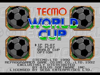 Screenshot Thumbnail / Media File 1 for Tecmo World Cup (USA)