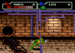 Screenshot Thumbnail / Media File 1 for Teenage Mutant Hero Turtles - The Hyperstone Heist (Europe)