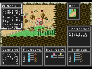 Screenshot Thumbnail / Media File 1 for Warrior of Rome II (USA)
