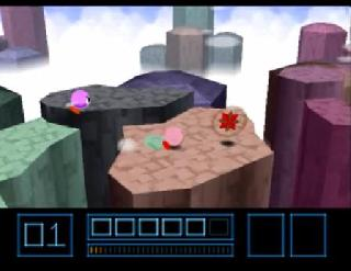 Screenshot Thumbnail / Media File 1 for Kirby 64 - The Crystal Shards (USA)
