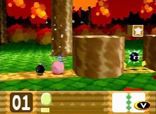 Screenshot Thumbnail / Media File 1 for Kirby 64 - The Crystal Shards (USA)