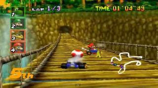 Screenshot Thumbnail / Media File 1 for Mario Kart 64 (USA)