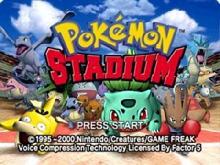 Screenshot Thumbnail / Media File 1 for Pokemon Stadium (USA)