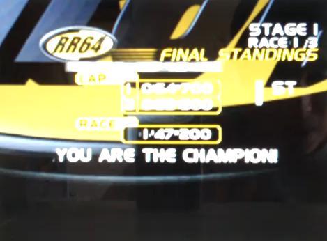 RR64 - Ridge Racer 64 E !zip System Nintendo 64