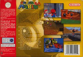 Screenshot Thumbnail / Media File 1 for Super Mario 64 (Europe) (En,Fr,De)