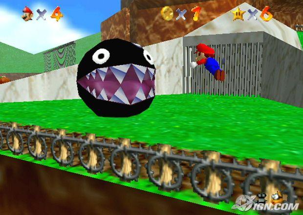 Super Mario 64 (USA) ROM