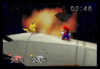 Screenshot Thumbnail / Media File 1 for Super Smash Bros. (USA)