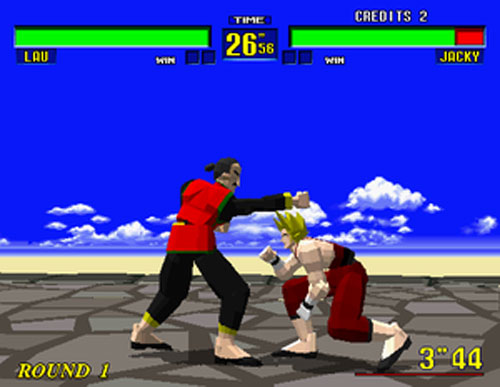 Screenshot thumbnail media file 1 for virtua fighter u