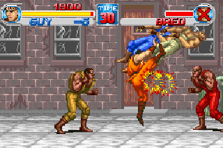 Screenshot Thumbnail / Media File 1 for Final Fight One (U)(Mode7)