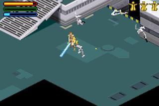 Screenshot Thumbnail / Media File 1 for Star Wars - Jedi Power Battles (U)(Eurasia)