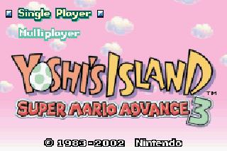 Screenshot Thumbnail / Media File 1 for Yoshi's Island - Super Mario Advance 3 (U)(Mode7)