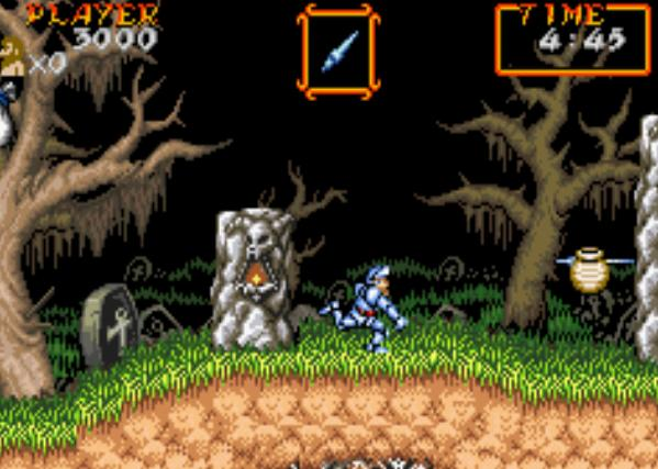 Super Ghoulsn Ghosts GBA