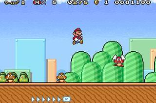 Screenshot Thumbnail / Media File 1 for Super Mario Advance 4 (J)(Eurasia)