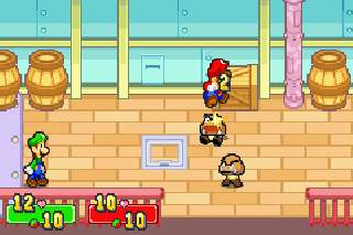 Screenshot Thumbnail / Media File 1 for Mario And Luigi Superstar Saga (E)(Menace)
