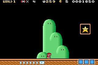 Screenshot Thumbnail / Media File 1 for Super Mario Advance 4 - Super Mario Bros 3 (E)(Independent)